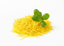 Heap of soup noodles Royalty Free Stock Photo