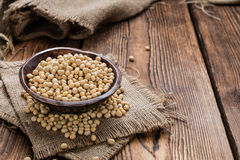 Heap of Soy Beans Royalty Free Stock Photography