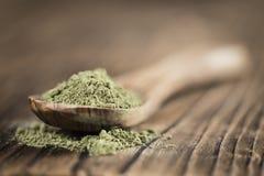 Heap of Stevia (powder) Stock Photos