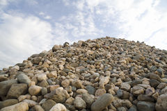 Heap of stone Royalty Free Stock Photography