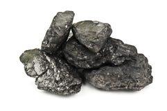 Heap of stone coal Stock Image