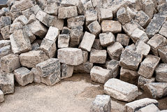 Heap of stones Royalty Free Stock Images