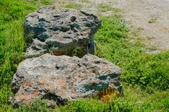 Pile of stones- abstract natural landscape royalty free stock images