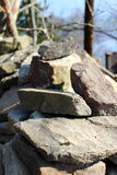 Heap of stones Royalty Free Stock Photography