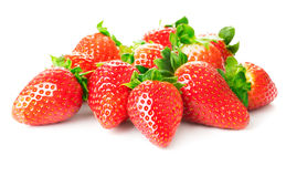 Heap of strawberries Royalty Free Stock Images