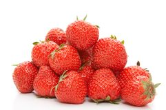 Heap of strawberry Royalty Free Stock Photos
