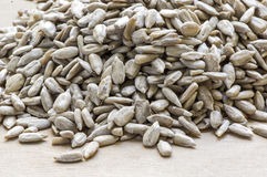 Heap of sunflower seed Stock Photo
