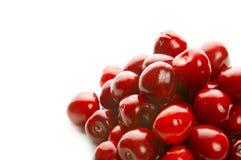 Heap of sweet cherries Stock Photo