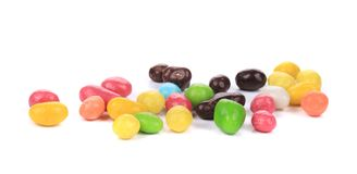 Heap of sweet colorful glaze candies. Stock Photography