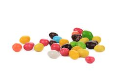 Heap of sweet colorful glaze candies. Stock Photo