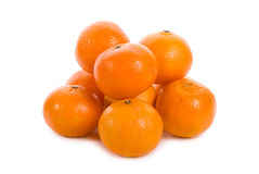 Heap of tangerines Royalty Free Stock Image
