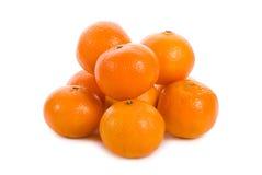 Heap of tangerines Royalty Free Stock Image