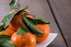 Heap of Tangerines Stock Photos