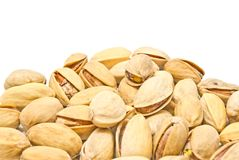 Heap of tasty pistachios Royalty Free Stock Photography