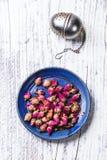 Heap of tea roses Stock Image
