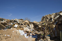 Heap Of Thrown Cardboard Boxes Royalty Free Stock Photography