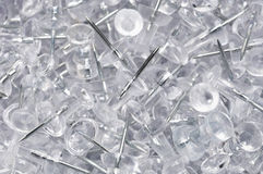 Heap Of Thumbtacks Royalty Free Stock Images