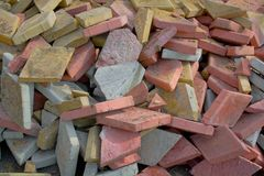 Heap of a tile Stock Photography