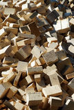 Heap of timber Royalty Free Stock Image
