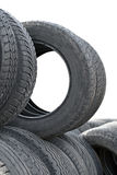 Heap of tires Royalty Free Stock Image