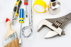 Heap of tools Royalty Free Stock Images