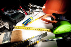 Heap of tools Stock Photo