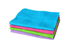 Heap of towels Royalty Free Stock Photo