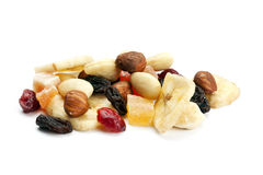 Heap of trail mix Royalty Free Stock Photography