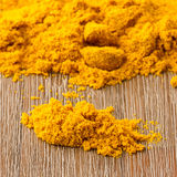 Heap of turmeric Royalty Free Stock Photos