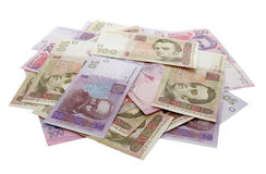 Ukrainian banknotes Stock Photos