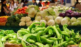 Heap of vegetables Stock Photography