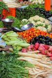 Vegetables on market in india Stock Images
