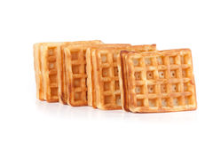 Heap of the Waffles Royalty Free Stock Image