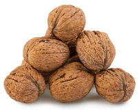 Heap walnut Stock Photos