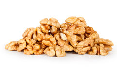 Heap of Walnut Stock Photography