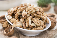 Heap of Walnuts Stock Photo