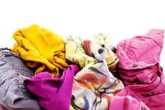 Heap Wash clothes Royalty Free Stock Photos