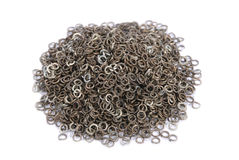 Heap of washers Stock Image