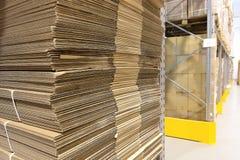 Heap of wavy corrugated Royalty Free Stock Photos