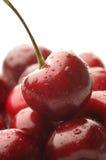 Heap of wet cherries Stock Photography