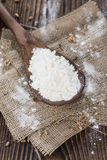 Heap of Wheat Flour Royalty Free Stock Photography