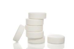 Heap white pill Royalty Free Stock Photo