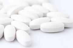 White pills Stock Photography