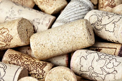 Heap of wine corks Royalty Free Stock Image