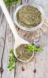 Heap of Winter Savory Royalty Free Stock Photos