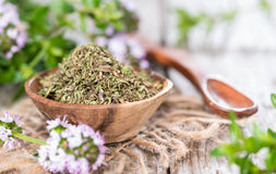 Heap of Winter Savory Royalty Free Stock Photography