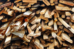 Heap of wood Royalty Free Stock Photos