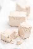 Heap of Yeast (selectivce focus) Royalty Free Stock Photos