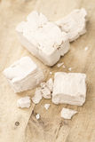 Heap of Yeast (selectivce focus) Stock Photography