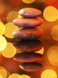 Heap of zen stones Stock Photo